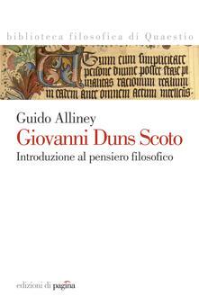 Giovanni Duns Scoto - Guido Alliney - ebook