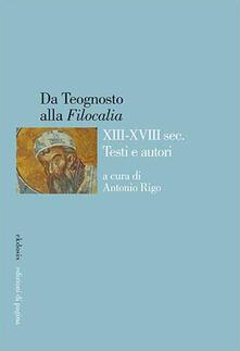 Daddyswing.es Da Teognosto alla «Filocalia» (XIII-XVIII sec.). Testi e autori Image