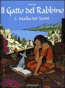 Malka dei Leoni. Il gatto del rabbino. Vol. 2