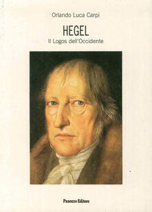Squillogame.it Hegel. Il logos dell'Occidente Image