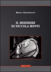 Il Miserere di Niccola Monti
