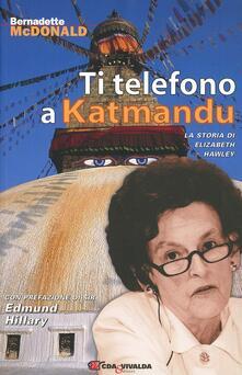 Associazionelabirinto.it Ti telefono a Katmandu. La storia di Elizabeth Hawley Image