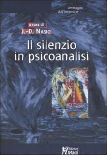 Il silenzio in psicoanalisi.pdf