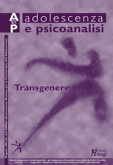 Filippodegasperi.it Adolescenza e psicoanalisi (2019). Vol. 1: Transgenere (maggio). Image