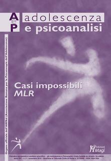 Rallydeicolliscaligeri.it Adolescenza e psicoanalisi (2019). Vol. 2: Casi impossibili. MLR (novembre). Image