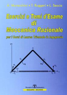 Camfeed.it Esercizi e temi d'esame di meccanica razionale. Per i corsi di laurea triennale in ingegneria Image