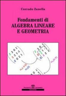 Rallydeicolliscaligeri.it Fondamenti di algebra lineare e geometria Image