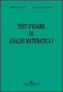 Test d'esame di analisi di matematica I. Vol. 1