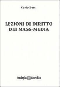 Lezioni di diritto dei mass media