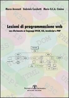 Lezioni di progammazione web. Con riferimento ai linguaggi HTML, CSS, javascript, e PHP.pdf