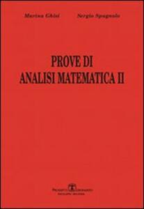 Prove di analisi matematica II. Vol. 1