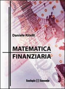 Matematica finanziaria - Daniele Ritelli - copertina