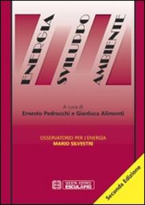 Libro Energia sviluppo ambiente. Osservatorio per l'energia Mario Silvestri Ernesto Pedrocchi Gianluca Alimonti