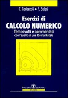 Filippodegasperi.it Esercizi di calcolo numerico. Temi svolti e commentati Image