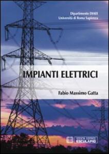 Impianti elettrici - Fabio M. Gatta - copertina
