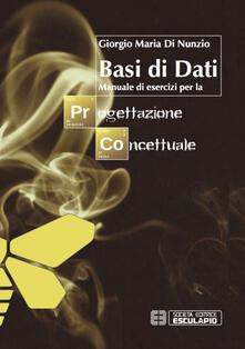 Basi di dati. Manuale di esercizi per la progettazione concettuale.pdf