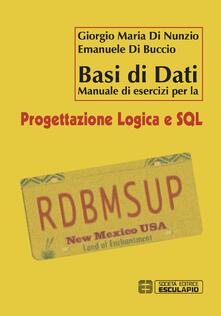 Basi di dati. Manuale di esercizi per la progettazione logica e SQL.pdf