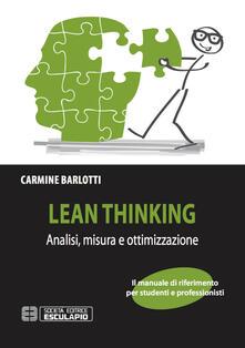 Winniearcher.com Lean thinking. Analisi misura e ottimizzazione Image