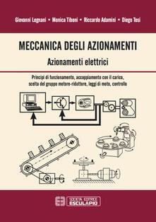 Meccanica degli azionamenti. Azionamenti elettrici....pdf