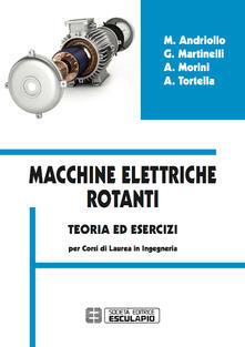 Tegliowinterrun.it Macchine elettriche rotanti. Teoria ed esercizi per i corsi in ingegneria Image