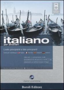Listadelpopolo.it Italiano per stranieri. Livello principianti e falsi principianti. Corso 1. CD Audio. 2 CD-ROM. Con gadget Image