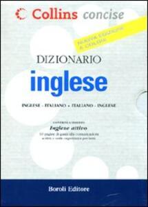 Dizionario inglese. Inglese-italiano, italiano-inglese - copertina