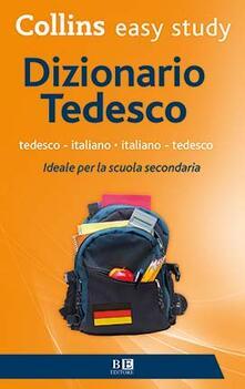 Dizionario tedesco. Tedesco-italiano, italiano-tedesco - copertina