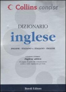 Dizionario inglese. Inglese-italiano, italiano-inglese. Ediz. bilingue - copertina