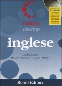 Inglese. Dizionario inglese-italiano, italiano-inglese. Con CD-ROM - copertina