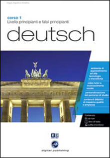 Partyperilperu.it Deutsch. Livello principianti e falsi principianti. Corso 1. CD Audio e CD-ROM Image