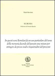 Se de sea - Paolo Bertolani - copertina