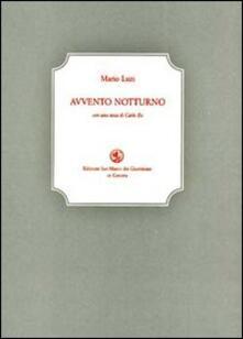 Avvento notturno - Mario Luzi - copertina