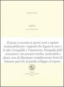 Simùn - Bartolo Cattafi - copertina