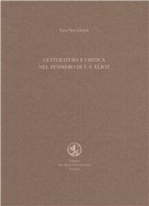 Letteratura e critica nel pensiero di T. S. Eliot