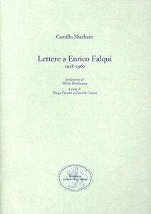 Lettere a Enrico Falqui 1928-1967