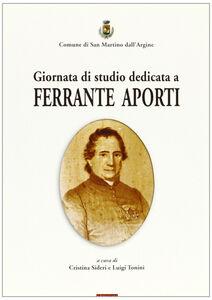 Giornata di studio dedicata a Ferrante Aporti