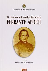Quarta Giornata di studio dedicata a Ferrante Aporti