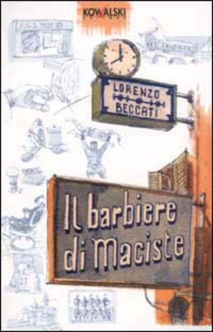 Il barbiere di Maciste - Lorenzo Beccati - copertina