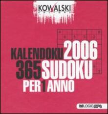 Listadelpopolo.it Kalendoku 2006. 365 Sudoku per 1 anno Image