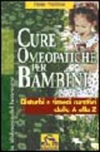 Libro Cure omeopatiche per bambini René Prummel