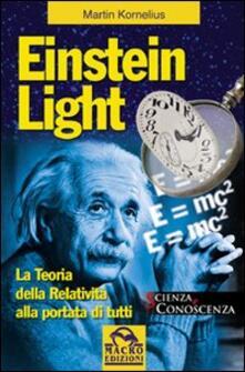 Aboutschuster.de Einstein light. La teoria della relatività alla portata di tutti Image