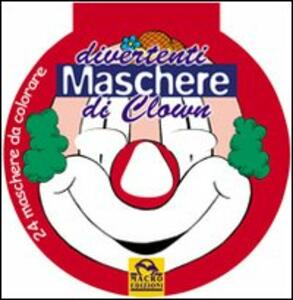 Divertenti maschere di clown
