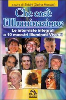 Daddyswing.es Che cos'è l'illuminazione. Le interviste integrali a 10 maestri illuminati viventi Image