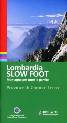 Lombardia slow foot. Montagna per tutte le gambe. Provincia di Como e Lecco.pdf