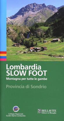 Writersfactory.it Lombardia slow foot. Montagna per tutte le gambe. Provincia di Sondrio Image