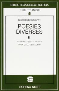 Poésies diverses. Vol. 2