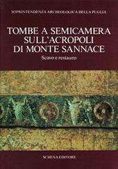 Tombe a semicamera sull'acropoli di Monte Sannace