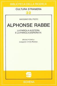 Alphonse Rabbe: la parola austera e la parola disperata-Leggere il mito Rabbe
