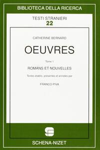 Oeuvres. Vol. 1: Romans et nouvelles.