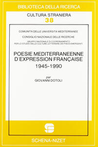 Poésie méditerranéenne d'expression française (1945-1990)